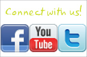 Social Media Connect with Us sidebar